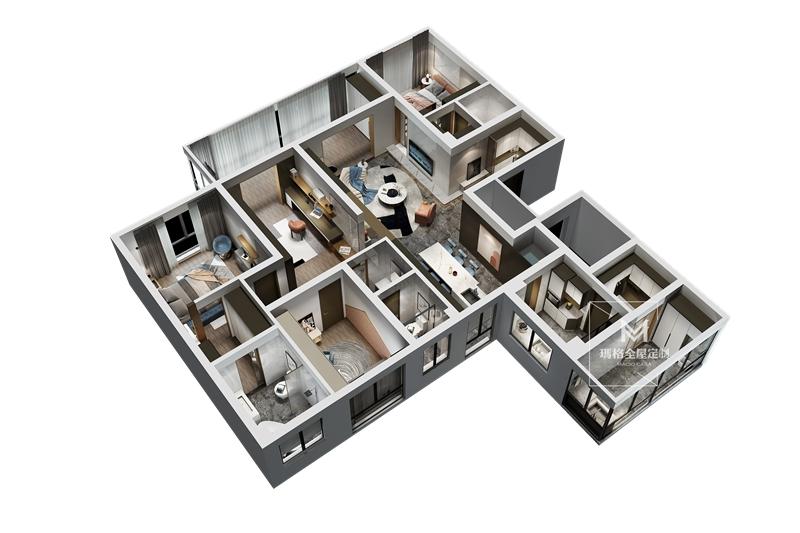 """艺术家的房子设计超""""能装""""的储藏室?!这182㎡简约家实用到超乎想象!(图2)"""