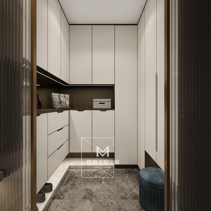 """艺术家的房子设计超""""能装""""的储藏室?!这182㎡简约家实用到超乎想象!(图5)"""